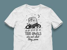 Print Owl #print #owl #shirt