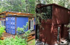 Dessa containrar ser inte mycket ut för världen, men vänta tills du ser insidan! - Sköna hem #interior #container #design #decor #architecture #deco #decoration