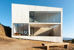House D / Panorama + WMR #houses #void #solid