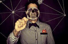 Mr. Hyde | Flickr: Intercambio de fotos #man #skull #photography #portrait