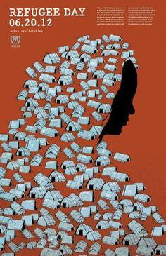 Social Issues Poster. #refugee #poster #social