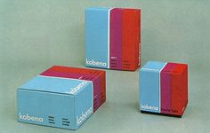 Vintage Packaging: Kobena - TheDieline.com - Package Design Blog