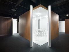 Spicebox Office by Nendo #interior #office #minimal #nendo
