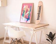 Attico36 #workstation #workspace #design #attico36 #minimal #poster #desk #setup #table #interior #design #interiordesign #home #plants #spa