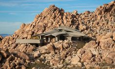 One With the Desert: Staggering Residence in Joshua Tree, California [Video] #architecture