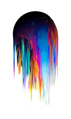 Velasquez Chile #design #graphic #vibrant #paint #illustration #dripping #colour