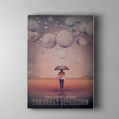 The Great Depression #inspiration #design #graphic #cover #illustration