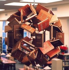 Millenium Bookball #sculpture #books