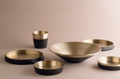 Damoon: Moon Inspired Tableware - IPPINKA haehoon Moon, a Seoul based artist, was inspired by ancient Korean heritage when creating this 6 piece tableware line. Each plate is handcrafted, which results in a unique design and quality materials