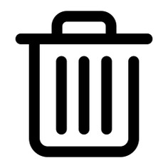 See more icon inspiration related to trash, basket, bin, can, garbage, ui, interface and Tools and utensils on Flaticon.