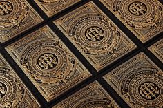 Gold Foil Business Card by Chad Michael - JOQUZ