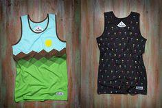Coachella all over print t-shirts / Edoardo Chavarin