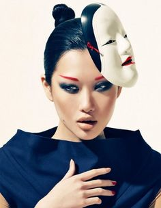 Merde! - lionskeleton: Angie Ng photographed by Bustaman... #fashion #photography
