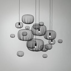 (parsonsees: (via Dezeen» Blog Archive» Static...) #lighting #nendo