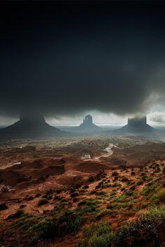 tumblr_mu6aofNbJD1qij426o1_500 #storm #desert