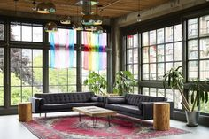 Open Plan Office Created by goCstudio for Substantial Studio, Seattle 10
