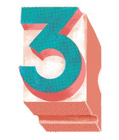 Three Wired on Illustration Served #illustration #number