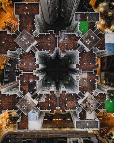Creative Urban Photography From Above by Terry Mclaughlin
