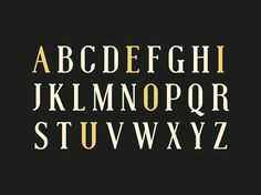 Muchacho Font #type #typeface #serif #letters #font