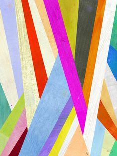 Two Ems Diagonal Abstract #illustration #color #pattern