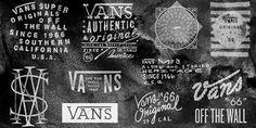 Vans lettering