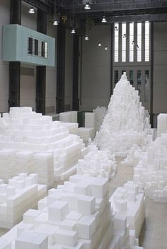 Tate Modern| Past Exhibitions | The Unilever Series: Rachel Whiteread: EMBANKMENT: #art #installation