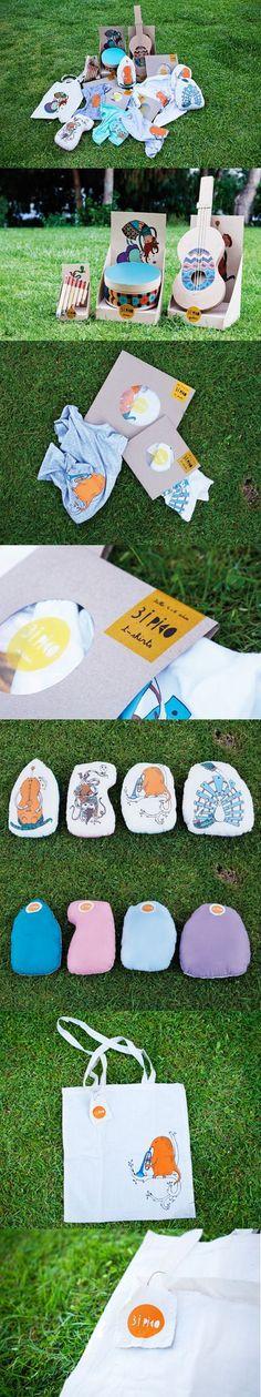 Silkscreen's project #silkscreen #merchandising #illustration #brand #music #logo #children