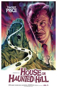 25 Alternate Movie Posters - Wall to Watch #movie #house #hill #horror #haunted #on #price #poster #vincent
