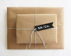 FFFFOUND! #packaging #minimalist #ribbon