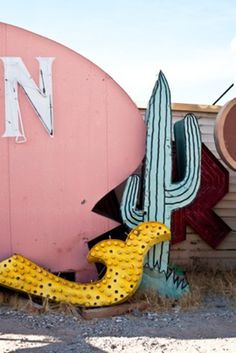 Neon, lights, parts #cactus