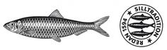 Klädesholmen Seafood Symboler #stamp #visual #fish #tradition #illustration #herring #identity