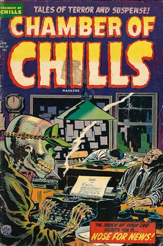 photo #of #cover #comic #illustration #chills #chamber