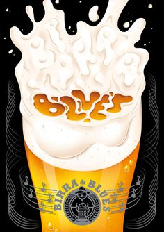 Birra & Blues #beer #lettering #blues #birra