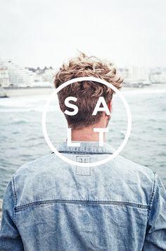 SALT #typography #photography