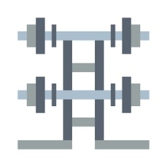 See more icon inspiration related to sports and competition, Tools and utensils, wellness, fitness, weighing, weightlifting, sportive, barbell, exercise and gym on Flaticon.