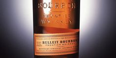 Closeup of Bulleit Bourbon label. #packaging #spirits #label