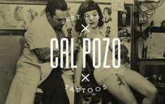 Cal Pozo #logo #tattoo #vintage