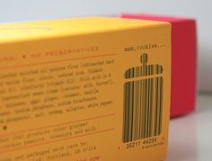 Bunches & Bunches snaps packaging barcode #packaging #letterpress #barcode