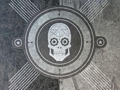SXSW Squarespace Skull Cards « Beast Pieces #print #design #squarespace #raley #sxsw #bantam #jessica #skull #cards
