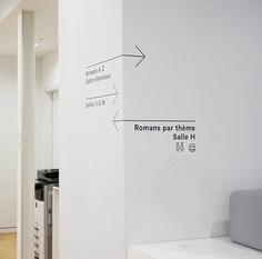Saul-Bellow图书馆导视系统设计