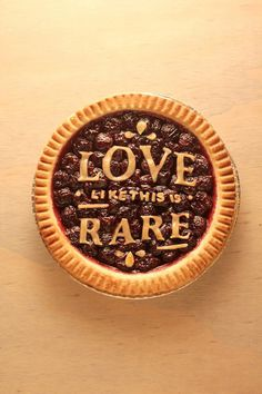 Typeverything.com Type Delight by Nina Harcus #type #pie #food