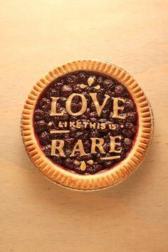 Typeverything.com Type Delight by Nina Harcus #type #pie #food