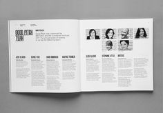 Good Pitch 2013 #print #poster #art #layout #typography