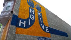 L1270494 #steve #mural #powers #five #high