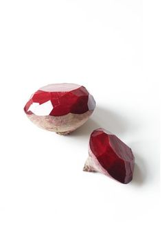 SARAH ILLENBERGER #beetroot #diamond #vegetables #art #ruby