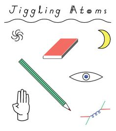 Jiggling Atoms Camberwell Press #graphic design #illustration
