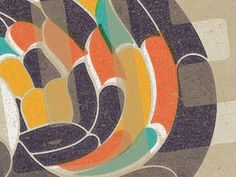 Dribbble - Color and Texture by Kendrick Kidd #design