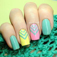 50 Lovely Spring Nail Art Ideas