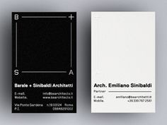 Architecture business cards #cards #business