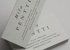 Tsto | Mila Pentti #branding #business #print #design #graphic #identity #logo #cards